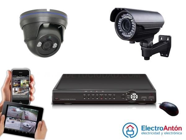 Instalación Sistema vigilancia Elche