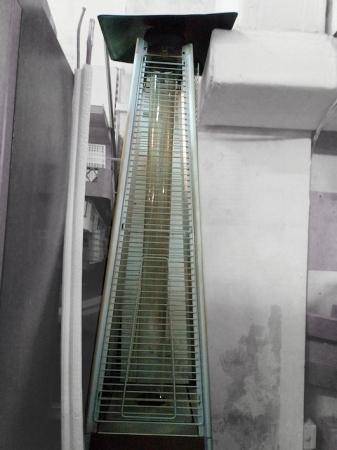 Estufa de terraza tipo Hongo