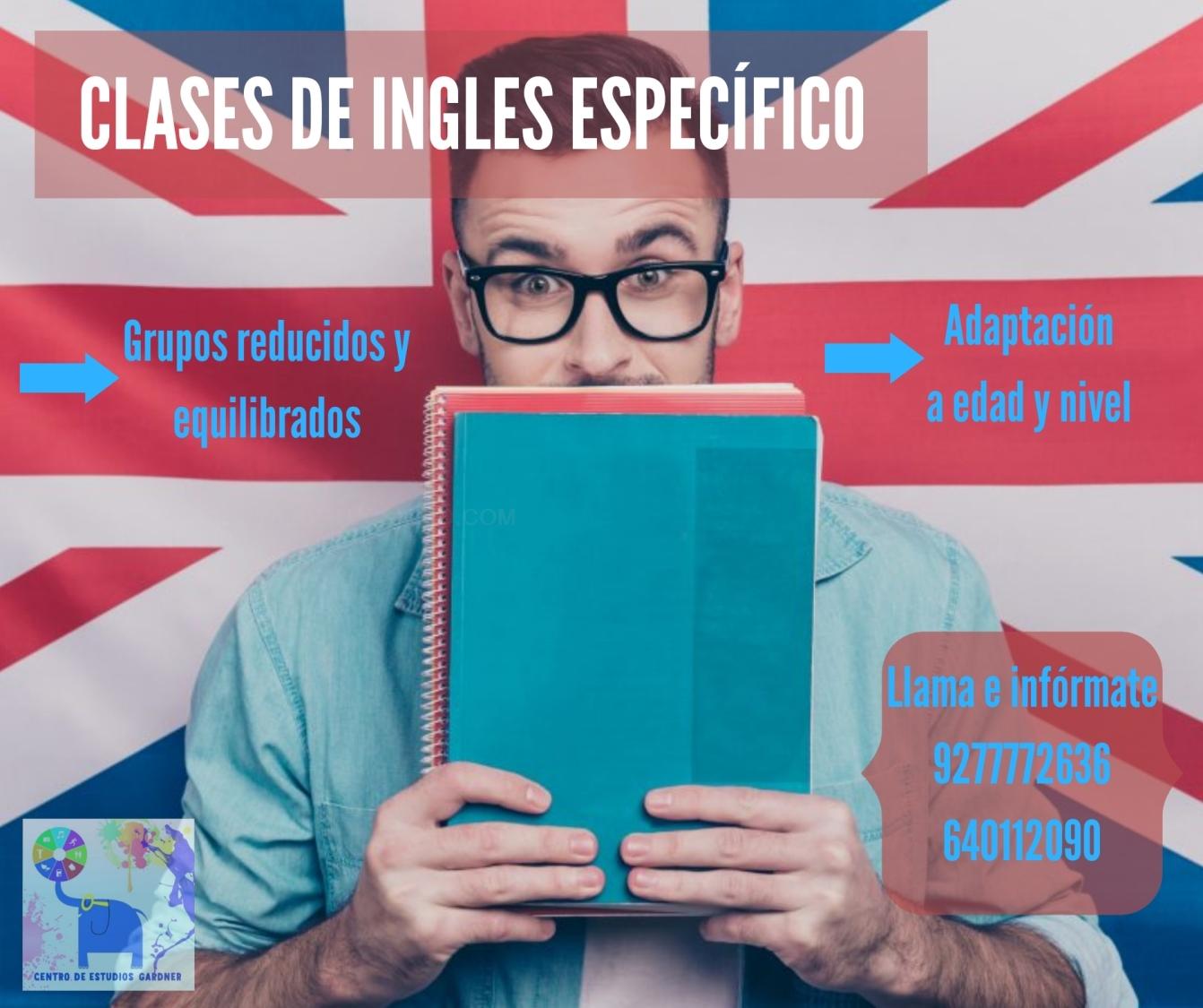 Clases de Inglés específico
