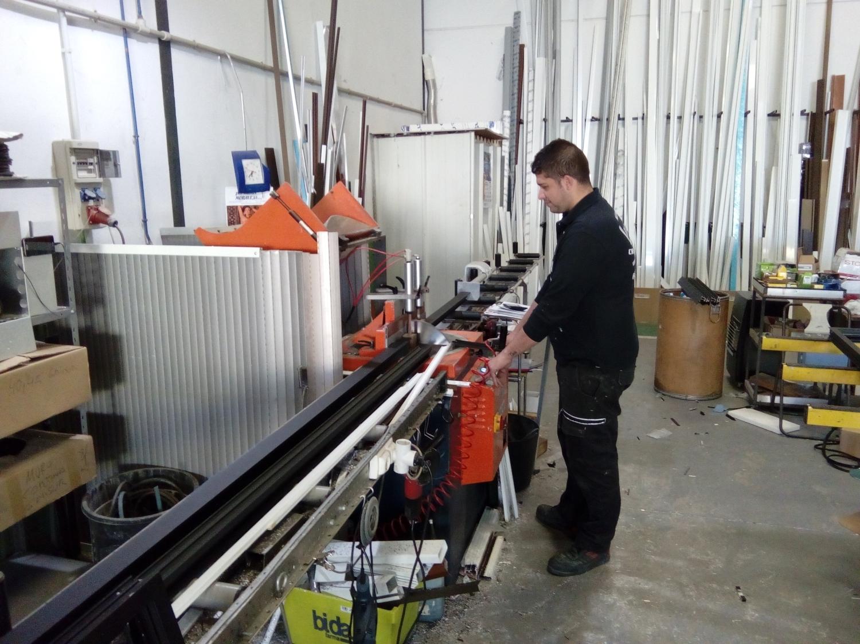 Carpintería de aluminio y PVC en Cáceres
