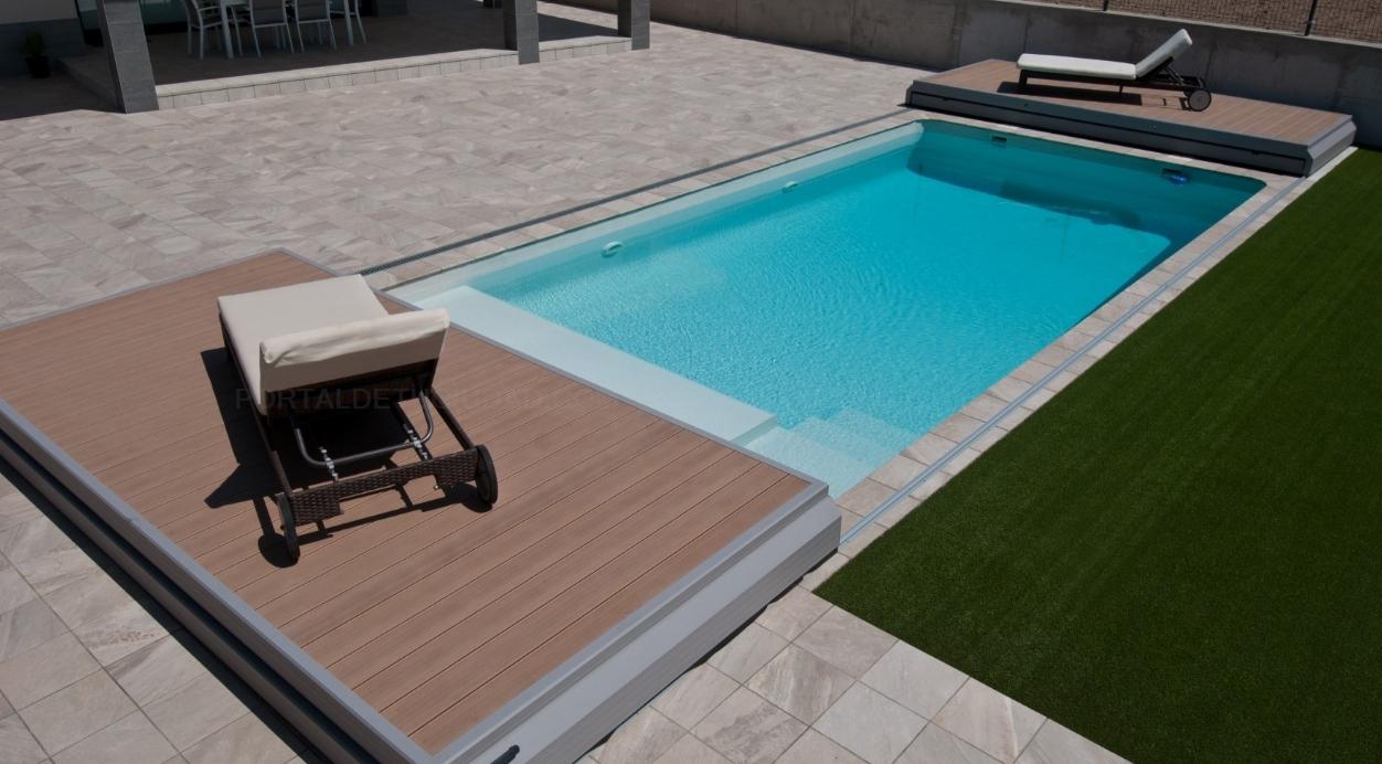 Cubiertas de piscinas Vegametal en Cáceres