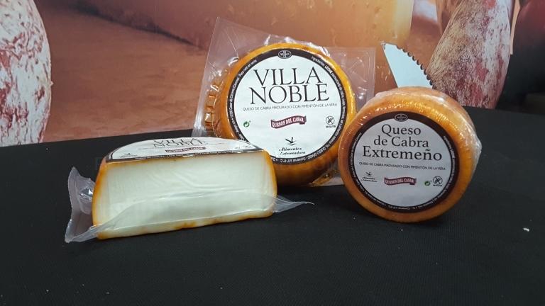 Queso de Cabra Madurado Villa Noble