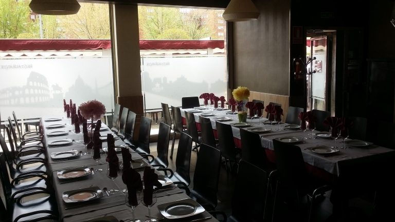 Restaurante Celebraciones en Palencia