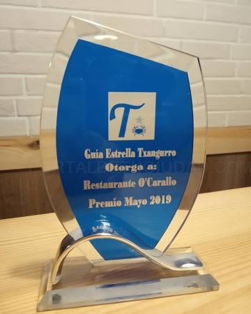 Recibimos el premio Guía Estrella Txangurro