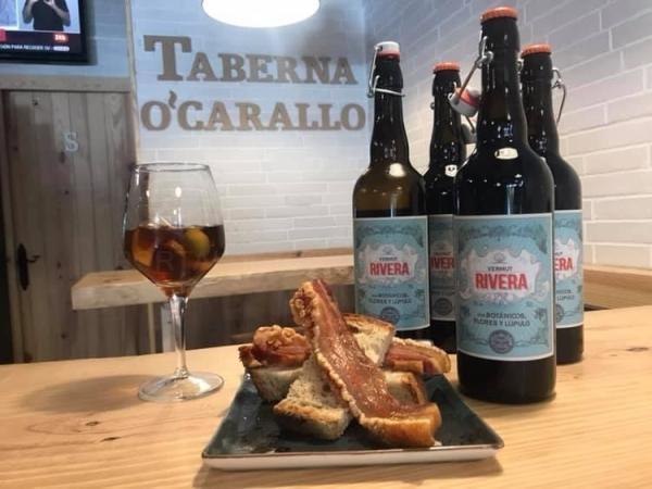 Vermut gallego Estrella Galicia