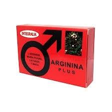 Arginina Plus Integralia60 cápsulas.
