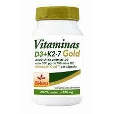 Destacado Vitamina D3+K2-7 Gold 60 cápsulas Bilema