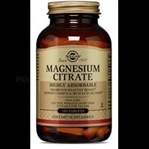 Citrato de Magnesio · Solgar · 60 comprimido