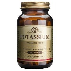 Potasio · Solgar · 100 comprimidos