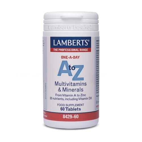 A-Z Multivitaminas y minerales