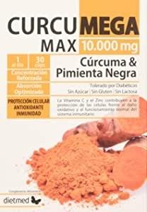 CúrcuMega Max 10.000 mg. - Dietmed - 30 caps