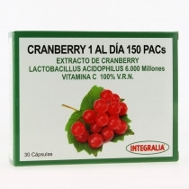 CRANBERRY 1 AL DÍA 150 PACS INTEGRALIA 30 CÁP