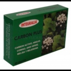 Carbon Plus · Integralia · 60 cápsulas