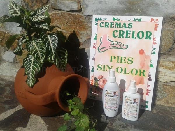 CRELOR (PARA ELIMINAR EL OLOR DE LOS PIES)