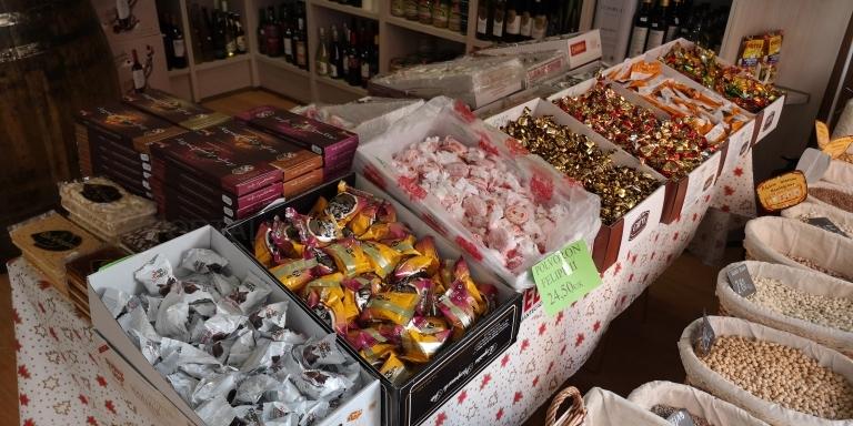 Productos navideños en Palencia