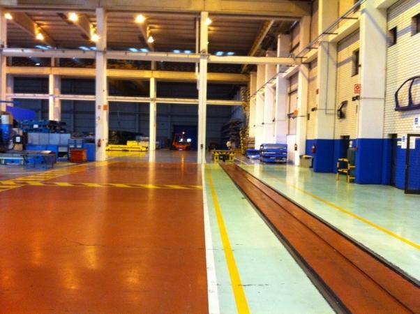 Pintura industrial en Palencia