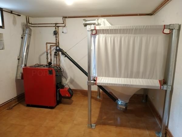 Calefacción de pellets en Palencia