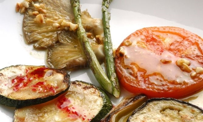 Parrillada de verduras Palencia