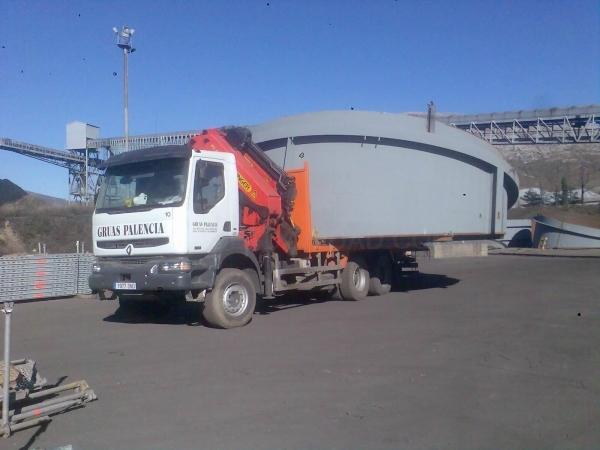 Transporte Plataformas en Palencia