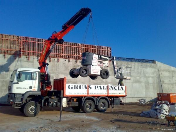 Alquiler de maquinaria en Palencia